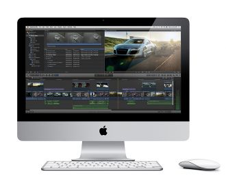 Final Cut Pro X iMac web kl
