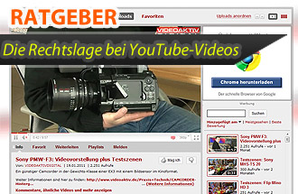 Recht YouTube web kl