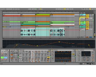 Ableton Live9 arrangement
