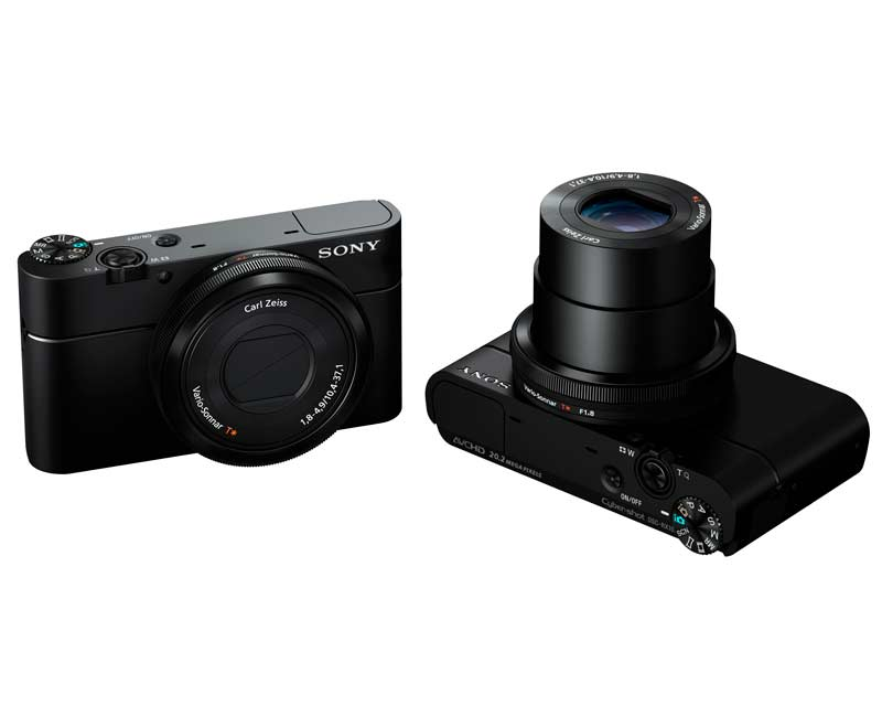 sony cybershot dsc rx100 gro er sensor neue optik und avchd 2 0. Black Bedroom Furniture Sets. Home Design Ideas