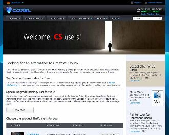 Corel adobe umsteiger website