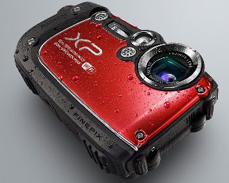 Fujifilm Finepix XP200 red Front web kl