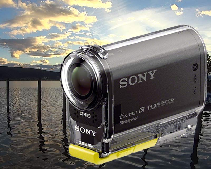 sony hdr as 30 action cam mit bildstabilisator. Black Bedroom Furniture Sets. Home Design Ideas
