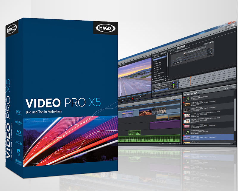 MAGIX Video Pro X5 v12.0.13.0 VideoPlugins & Extras Contents - MULTI - ENG