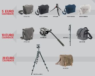 manfrotto cashback