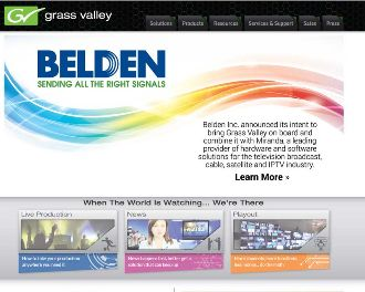 GrassValley Belden