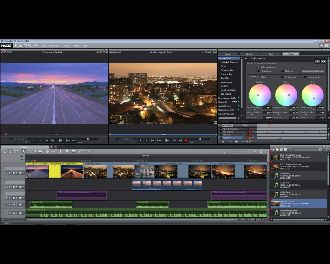 Magix VideoProX6 Mainscreen