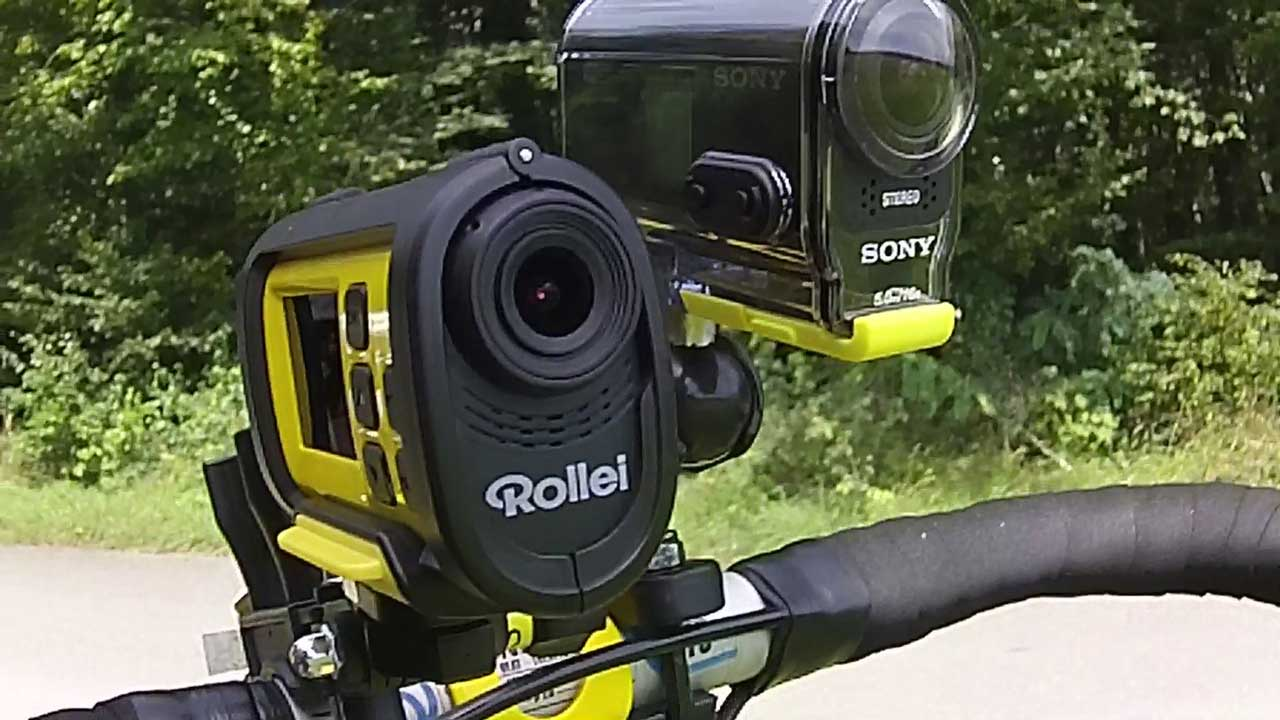 einsteiger action cams praxistest sony hdr as20 vs rollei. Black Bedroom Furniture Sets. Home Design Ideas