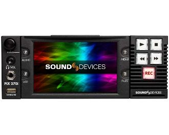 SoundDevices PIX-270i front-panel