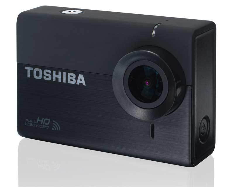 toshiba camileo x sports action cam mit bildstabilisator. Black Bedroom Furniture Sets. Home Design Ideas