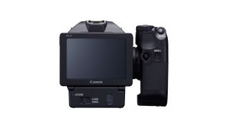 canon xc10 back web