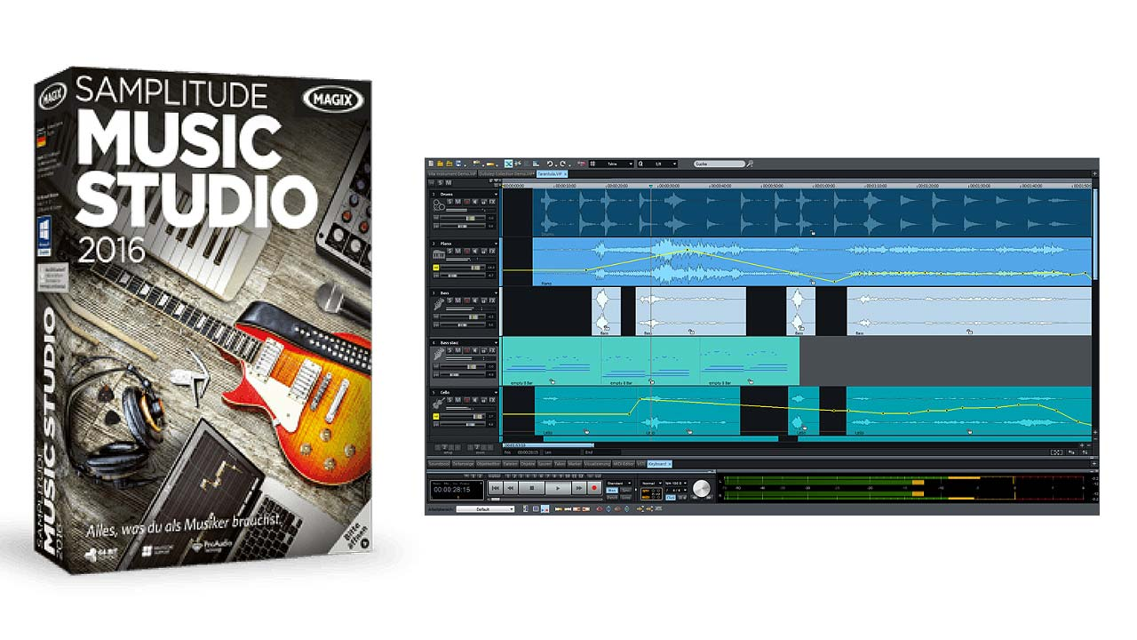 how to make a beat with magix music maker