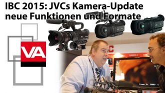 Titel Grafik IBC JVC Website NEWS