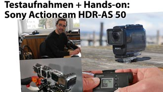 2016 03 Actioncam Sony AS50 News