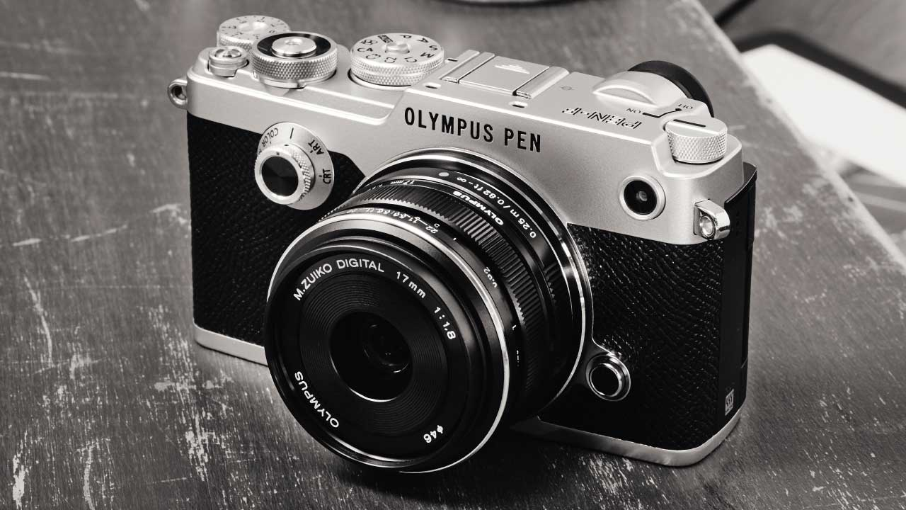olympus pen f mft systemkamera im retro design. Black Bedroom Furniture Sets. Home Design Ideas