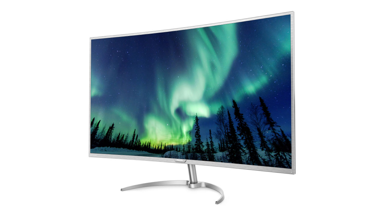 ifa 2016 philips 40 zoll 4k curved monitor und mehr. Black Bedroom Furniture Sets. Home Design Ideas
