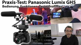 2017 01 Panasonic GH5 Titel News