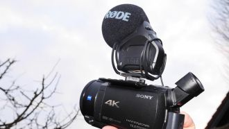 fdr ax 53 rode stereo video mic pro web