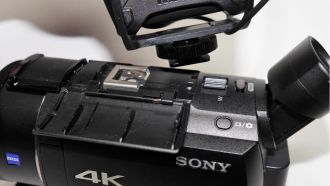 sony fdr ax53 shoe web
