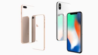 Apple iPhone8 iPhoneX