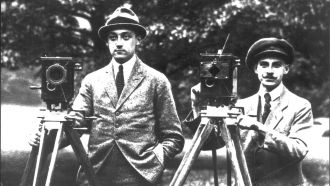 arri founder robert richter left and august arnold