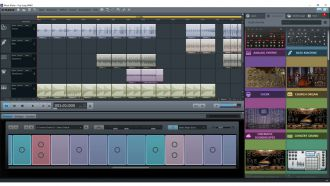 Magix Music Maker screen web