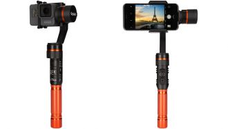 Rollei Actioncam smartphone Gimbal web