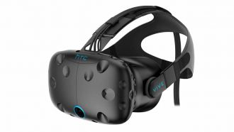 HTC VIVE HMD B2B FrontPers