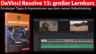 Lernkurs Davinci Resolve 15 titel