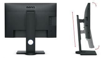 BenQ PhotoVue SW240 back web