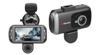 Braun B-Box T7: Full-HD-Dashcam mit 3-Zoll-Display