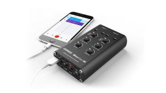 Centrance MixerFace R4R: Audio-Recorder, Mischpult und USB-Audio-Interface