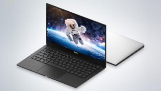 Dell XPS 13 2018 front web
