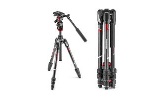 Manfrotto Befree GT, Advanced, Live Carbon: leichtere Videostative