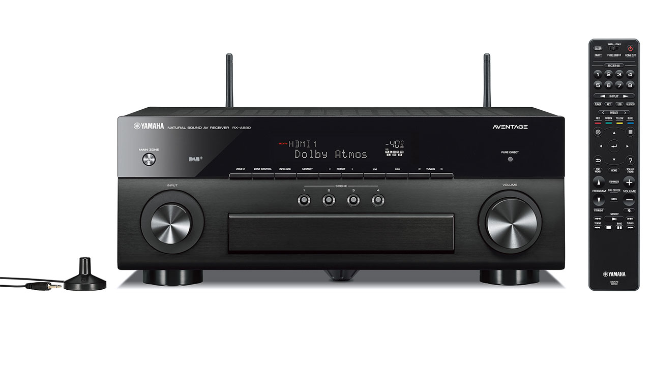 yamaha rx a680 a880 av receiver mit uhd und dolby vision support. Black Bedroom Furniture Sets. Home Design Ideas