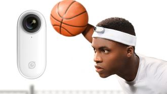 Insta36 go Sport Basketball Easy Clip