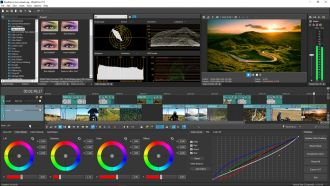 Magix VegasPro17 Color grading workflow