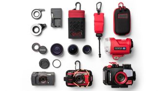 Olympus Tough TG 6 Family Accessories shadowed Mood