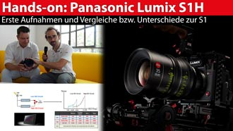 Panasonic Lumix S1H: Details und Hands-on