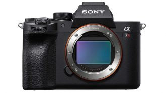 Sony A7RIV front
