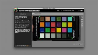 X Rite Camera calibration software web