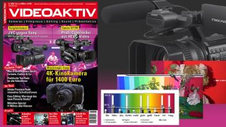 Test-Dateien online: Blackmagic Pocket CC 4K, Canon XF705, Sony NX200