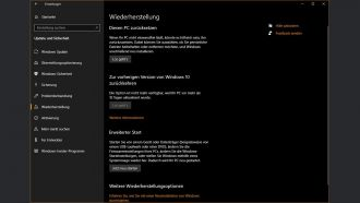 Windows wiederherstellen web