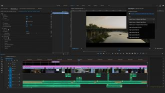 Premiere Pro Quick Export Preset Dropdown web