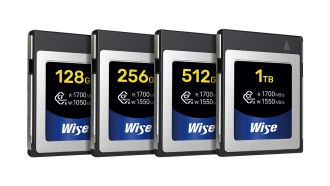 Wise CFexpress Type B Memory Cards 200706 web