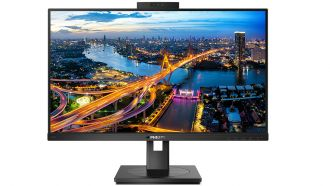 Philips 243B1JH: Full-HD-Monitor mit USB-Dockingstation und Webcam