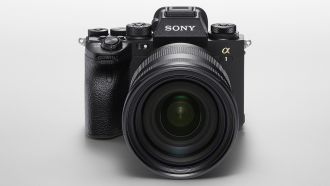 sony alpha 1 front web