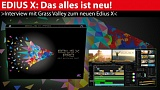 Interview: Edius X - Hintergrund-Rendering, 8K-Video, optimierte Oberfläche