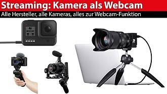 Streaming-Ratgeber: Fotokamera als Webcam