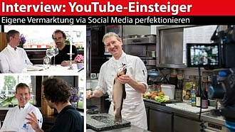 Interview YouTube-Einsteiger: Social Media Marketing in die Hand nehmen